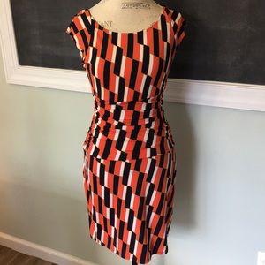 Bisou Bisou Michele Bohbot Printed Dress 4